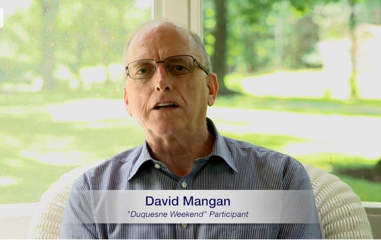 Testimonio vídeo – David Mangan