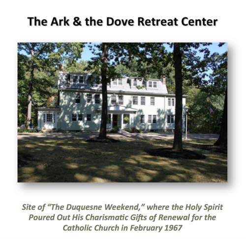 The Ark and The Dove: The Upper Room of the New Pentecost