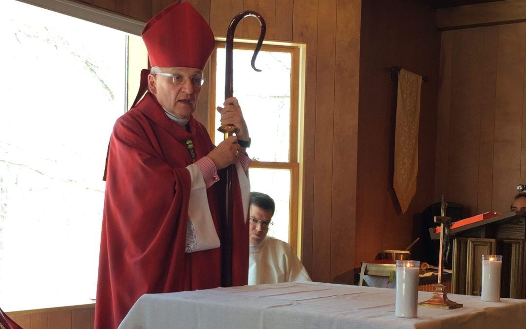 Bishop Zubik Homily at The Blessing